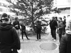 Ambulation at Lokal INT, Biel - Photo: Chri Frautschi